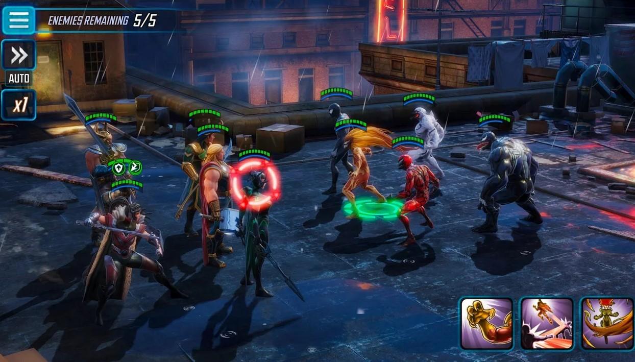 Marvel Strength Strike