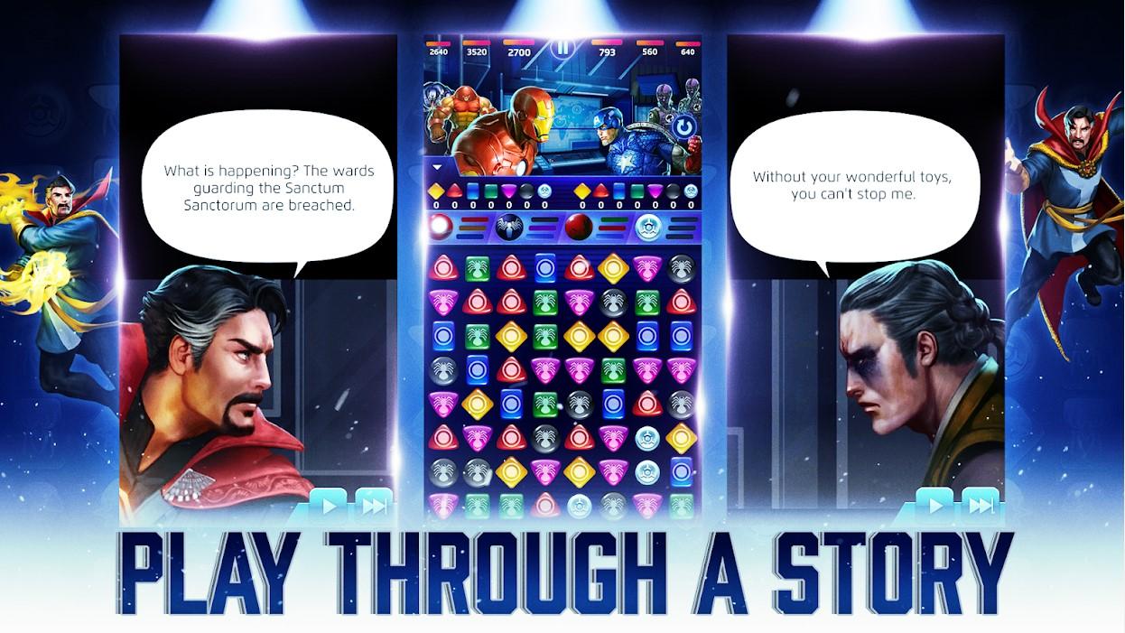 Marvel Puzzle Quest Hero RPG