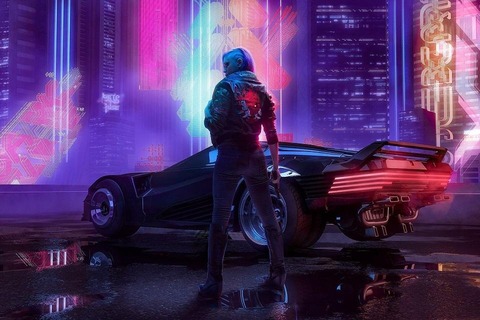 Carro da Tesla tem potência suficiente para rodar Cyberpunk 2077