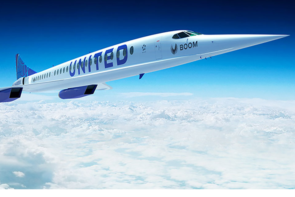 United Airlines compra aviões supersônicos que vão de SP a NY em 6 horas