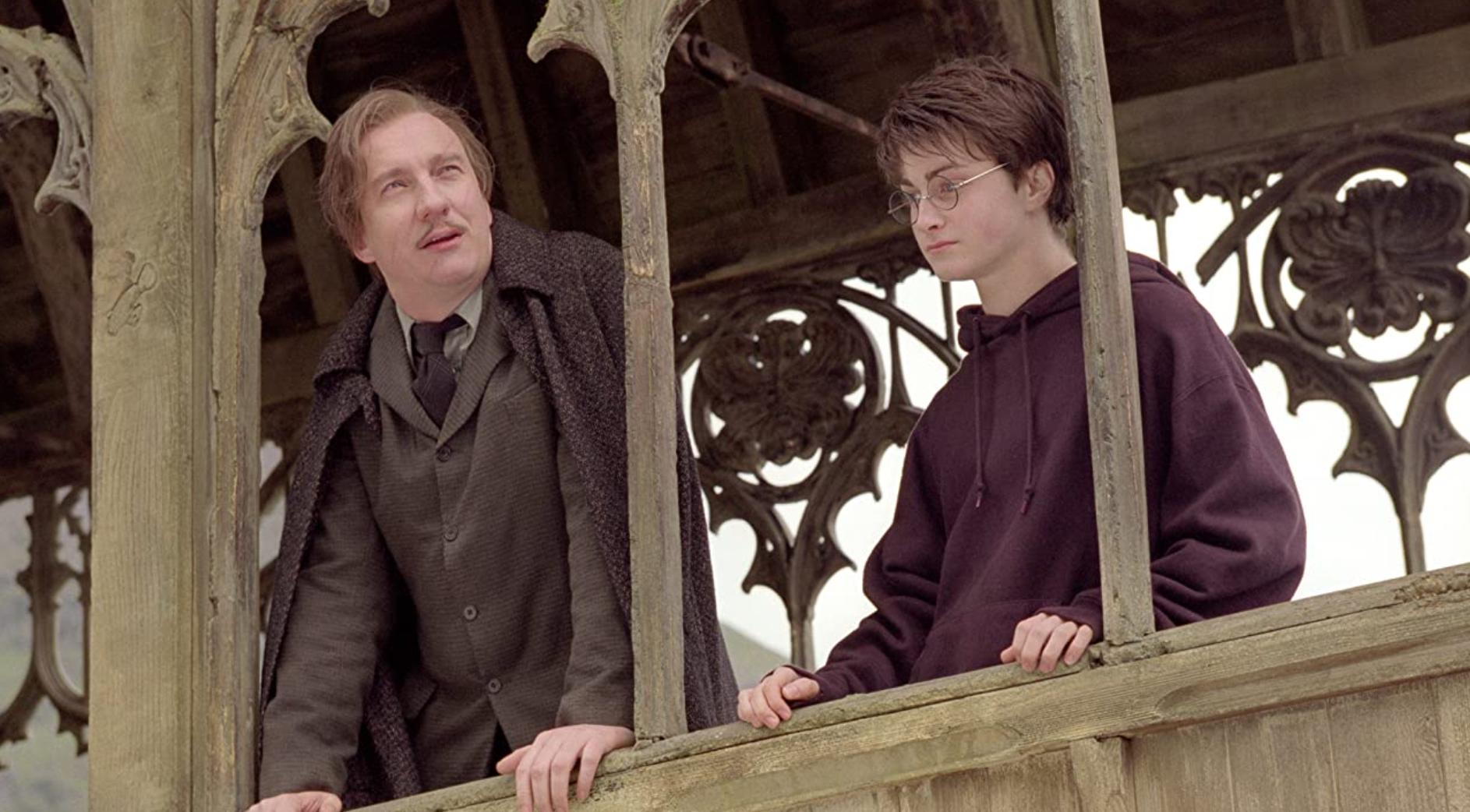 David Thewlis as Remus Lupin.