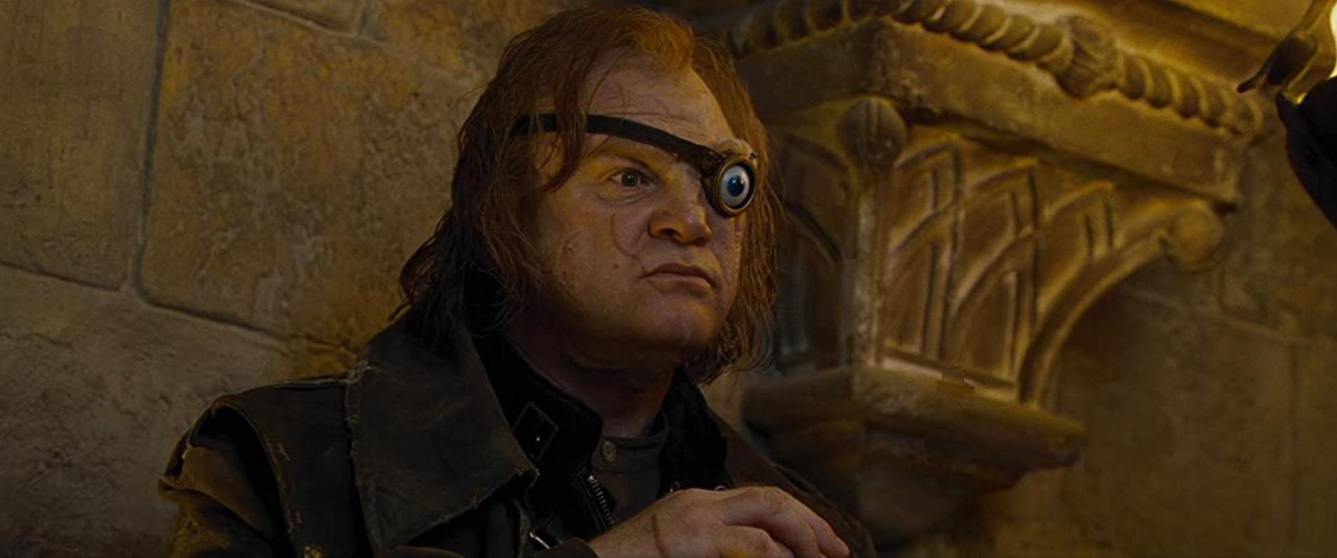 Brendan Gleeson as Alastor 'Mad-Eye' Moody.