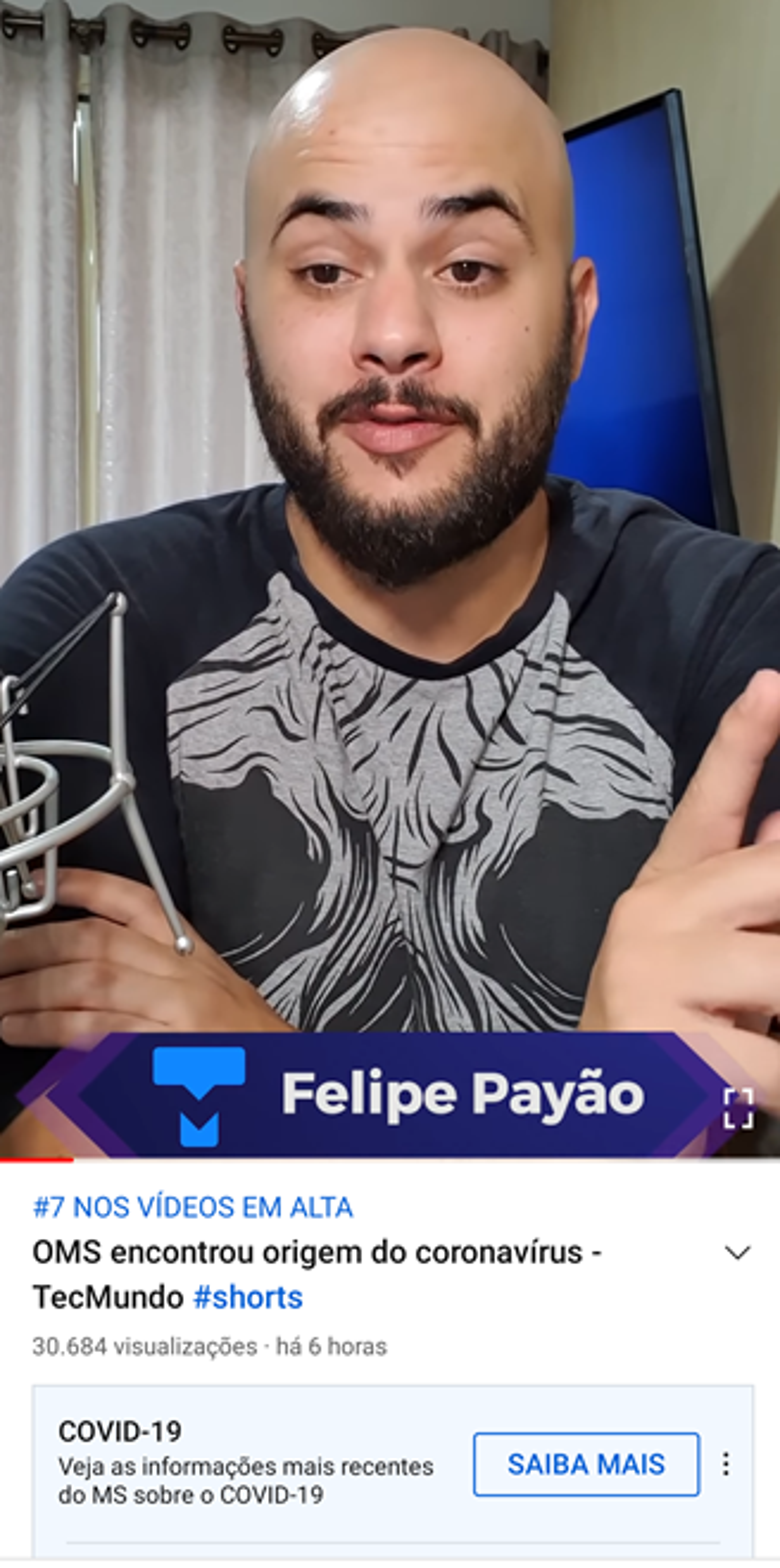 YouTube Shorts TecMundo