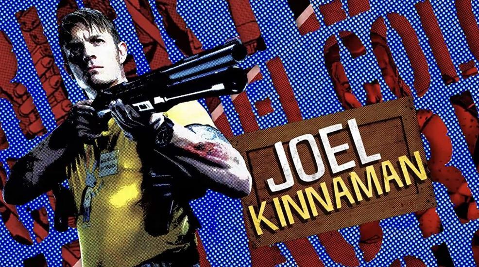 Joel Kinnaman como Rick Flag em O Esquadrão Suicida