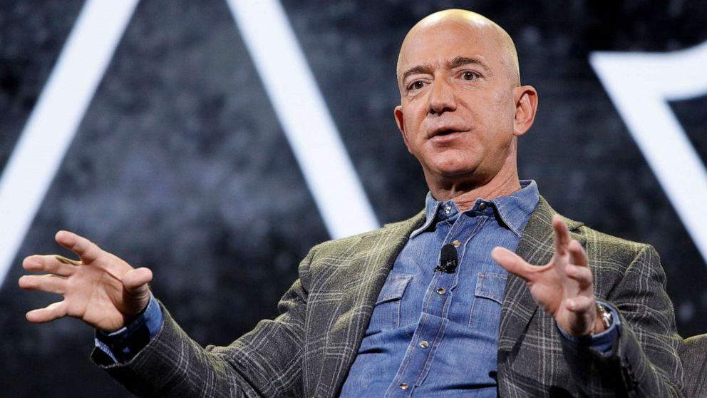 Fortuna de Jeff Bezos é estimada em US$ 177 bilhões.