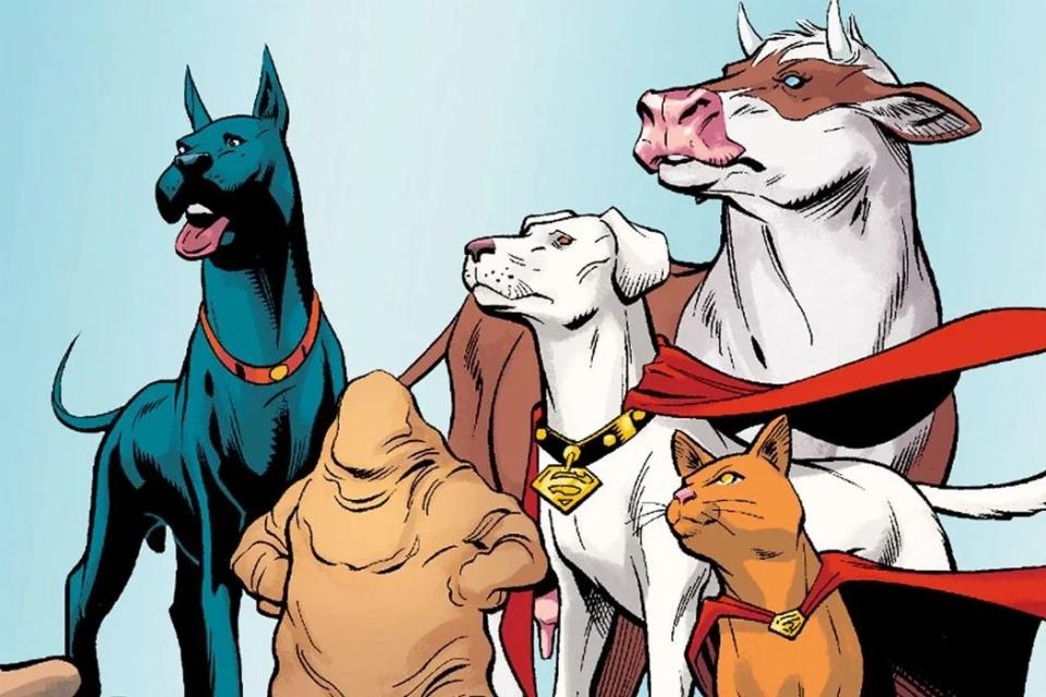 DC League of Super-Pets: Dwayne Johnson revela elenco do filme