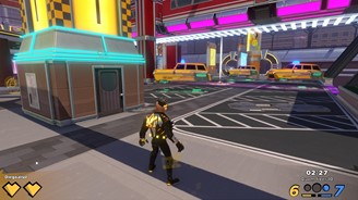 Knockout City brings a small amount of maps