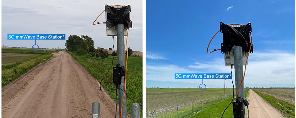 Imagem de: Nokia, Qualcomm e UScellular batem recorde de sinal 5G sem fio