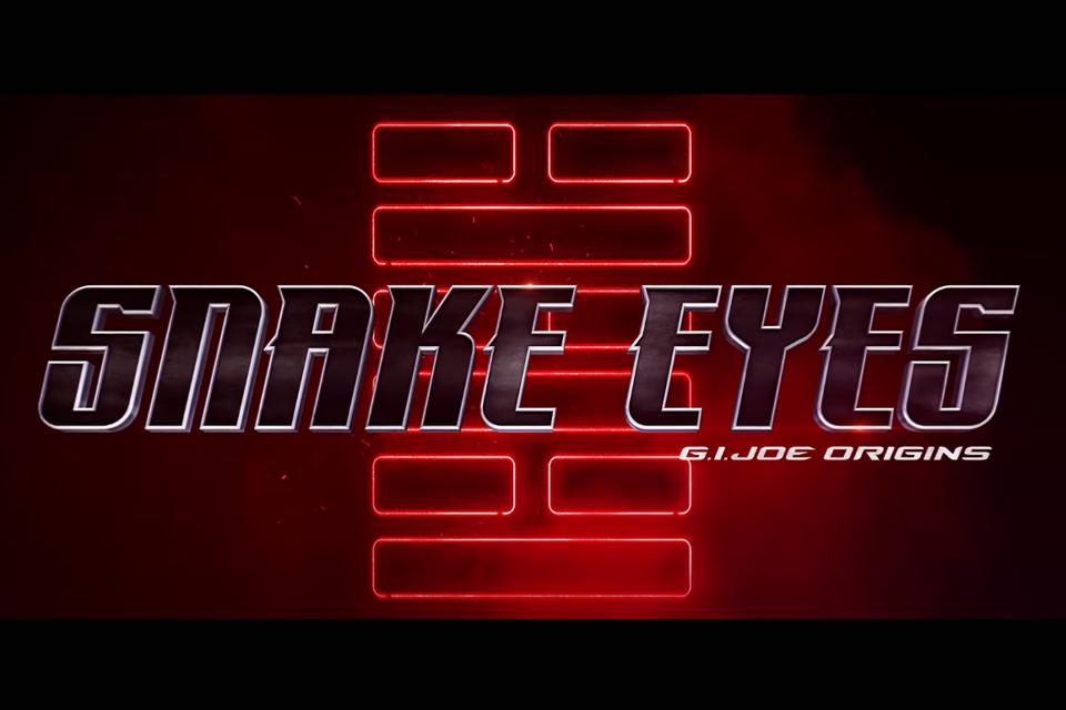 'G.I. Joe Origens: Snake Eyes' ganha pôsteres e vídeo making of