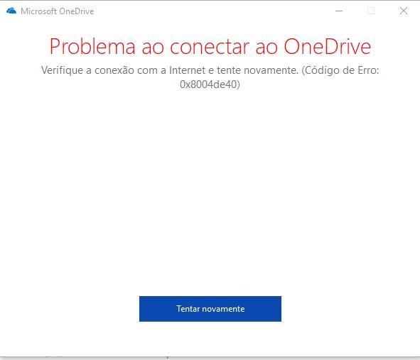Usuários também estão relatando novos erros no OneDrive.