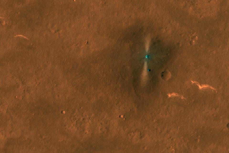 NASA registra imagens do rover chinês Zhurong em Marte