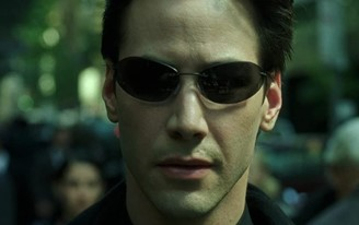 The actor as Neo in