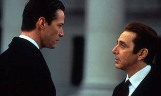 Reeves and Pacino acting opposite.