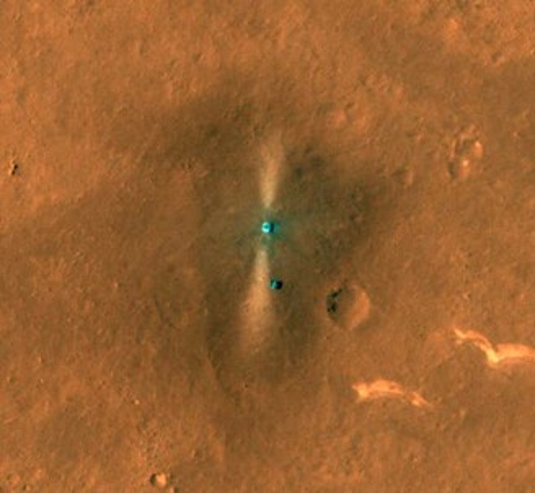 Fonte: NASA/JPL/UArizona/Divulgação