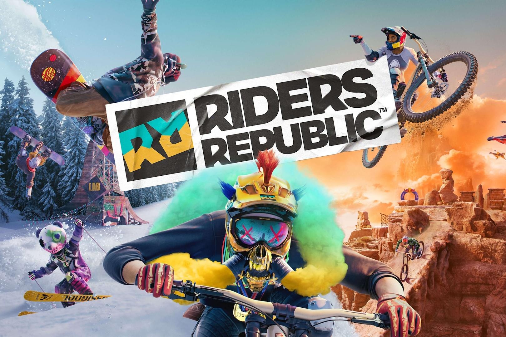 Riders Republic ganha gameplay cheio de adrenalina e data de lançamento