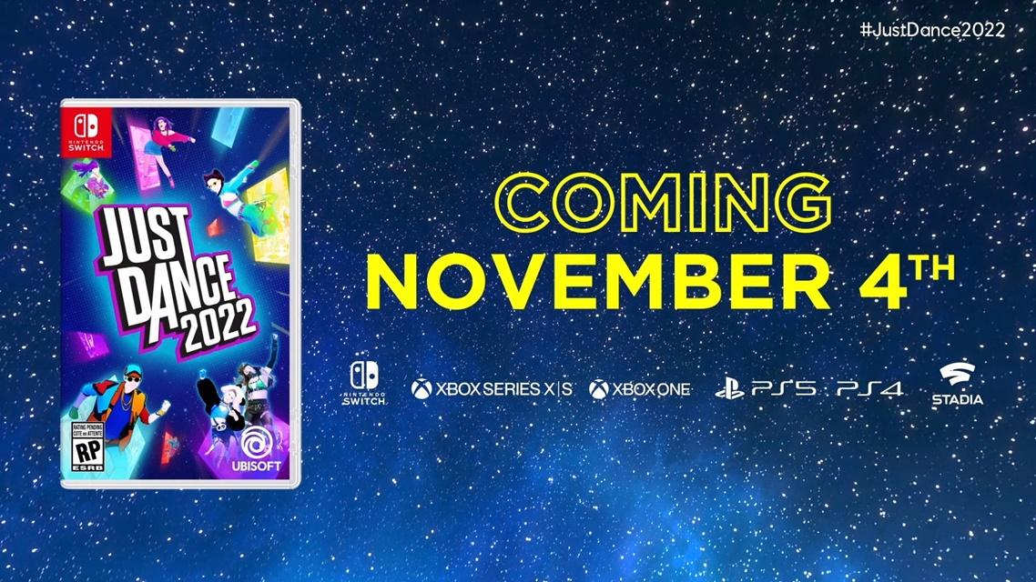 Just Dance 2022 chegará em novembro para consoles