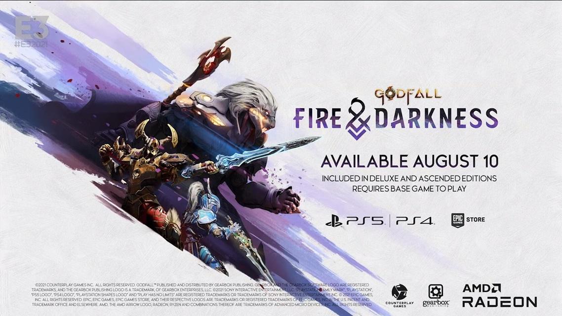 Godfall será lançado para PS4 em agosto