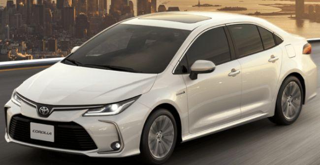 Toyota Corolla GLI.