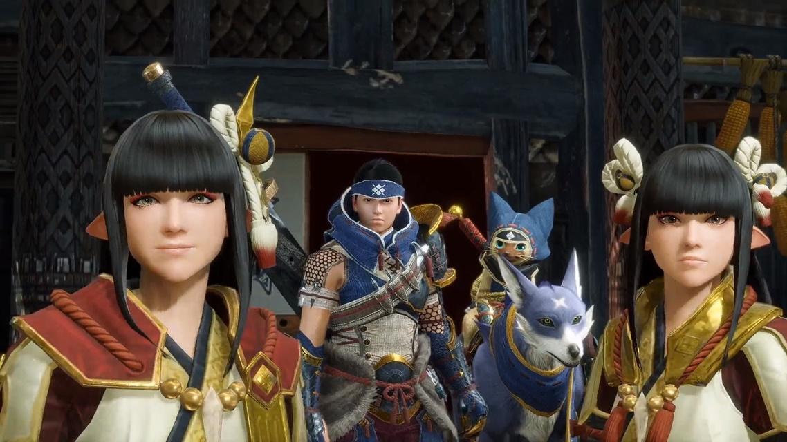 Monster Hunter Rise terá colaboração com Stories 2