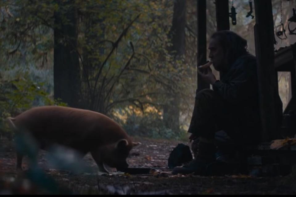 Pig: Nicolas Cage busca porco desaparecido em trailer de novo filme; veja!
