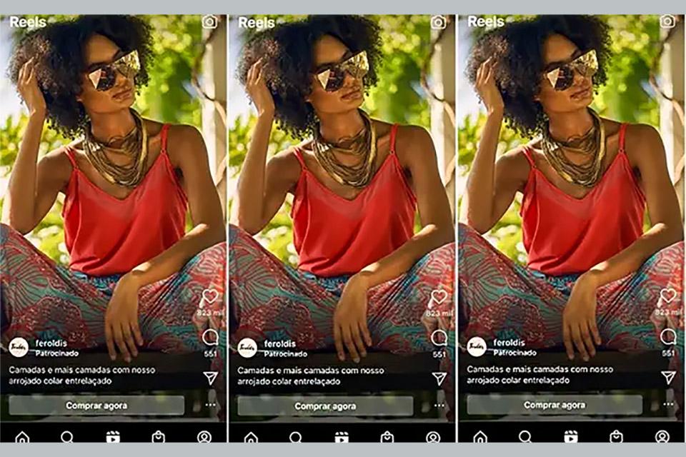 Instagram terá anúncios também no Reels, anuncia Facebook