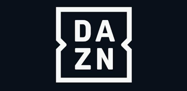 DAZN app.