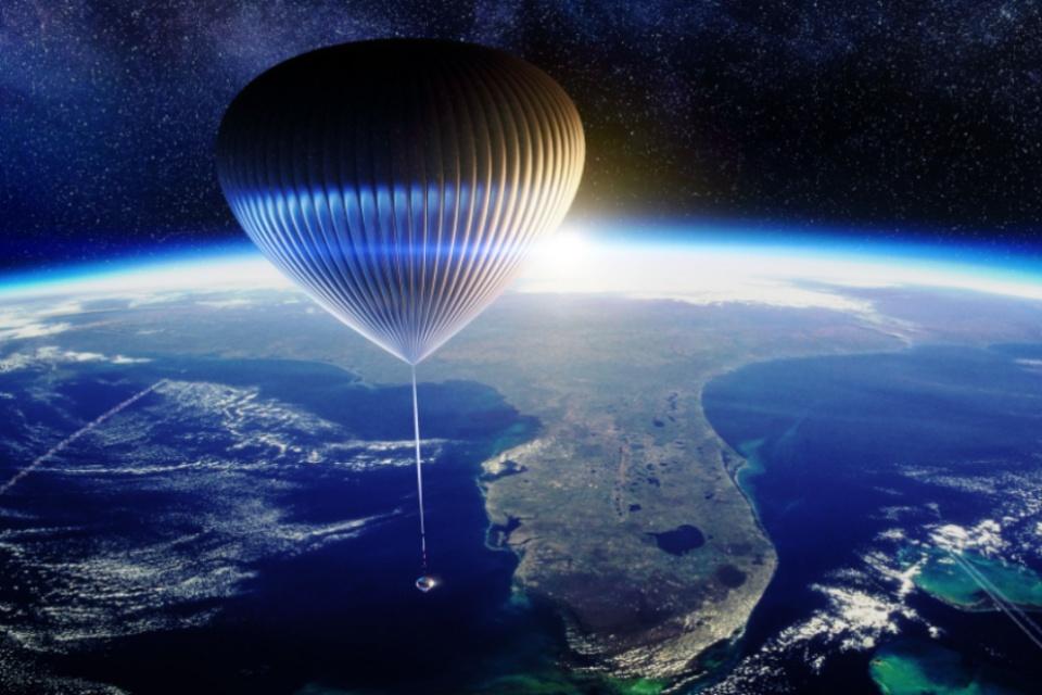 Turismo espacial: startup vende passagens para viagens em balão