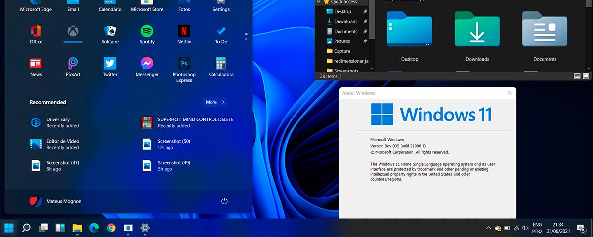 Imagem de: Windows 11: como criar um pendrive bootável com a ISO do sistema