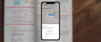 Google Lens can help you solve math questions.