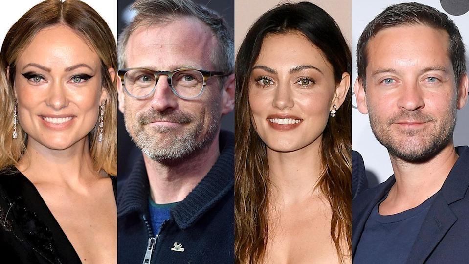 Olivia Wilde, Spike Jonze, Phoebe Tonkin e Tobey Maguire. (Getty Images/Reprodução)