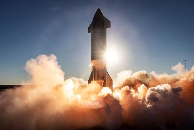 Por enquanto, os protótipos da Starship só realizam voos curtos.
