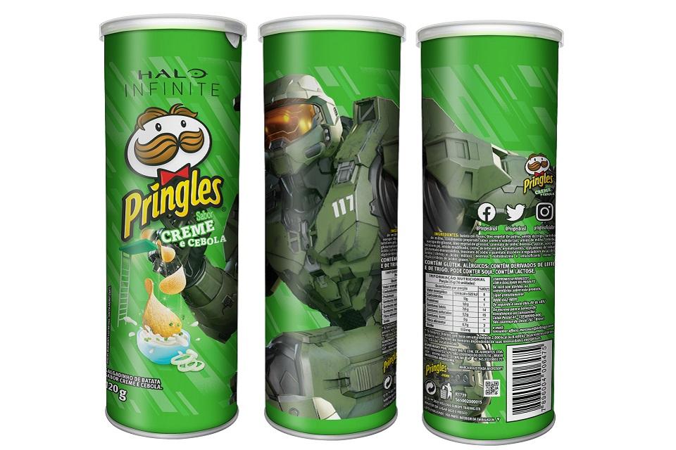 Pringles anuncia edição especial e limitada para os fãs de Halo