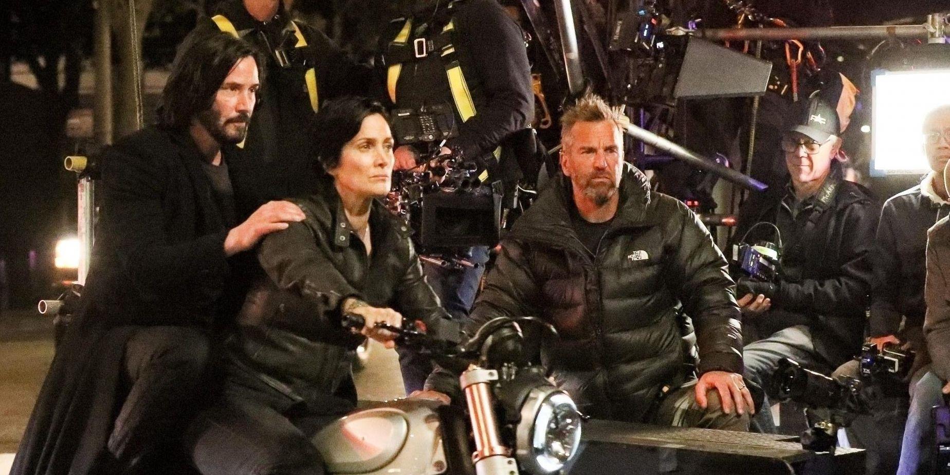 Quarto filme da saga deve estrear ainda em 2021 (Fonte: Warner Bros. Pictures/Reprodução)