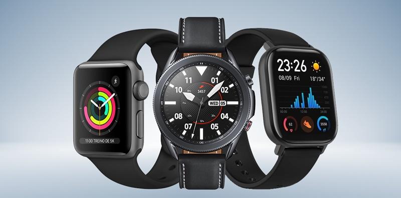 É possível personalizar o smartwatch de várias maneiras.