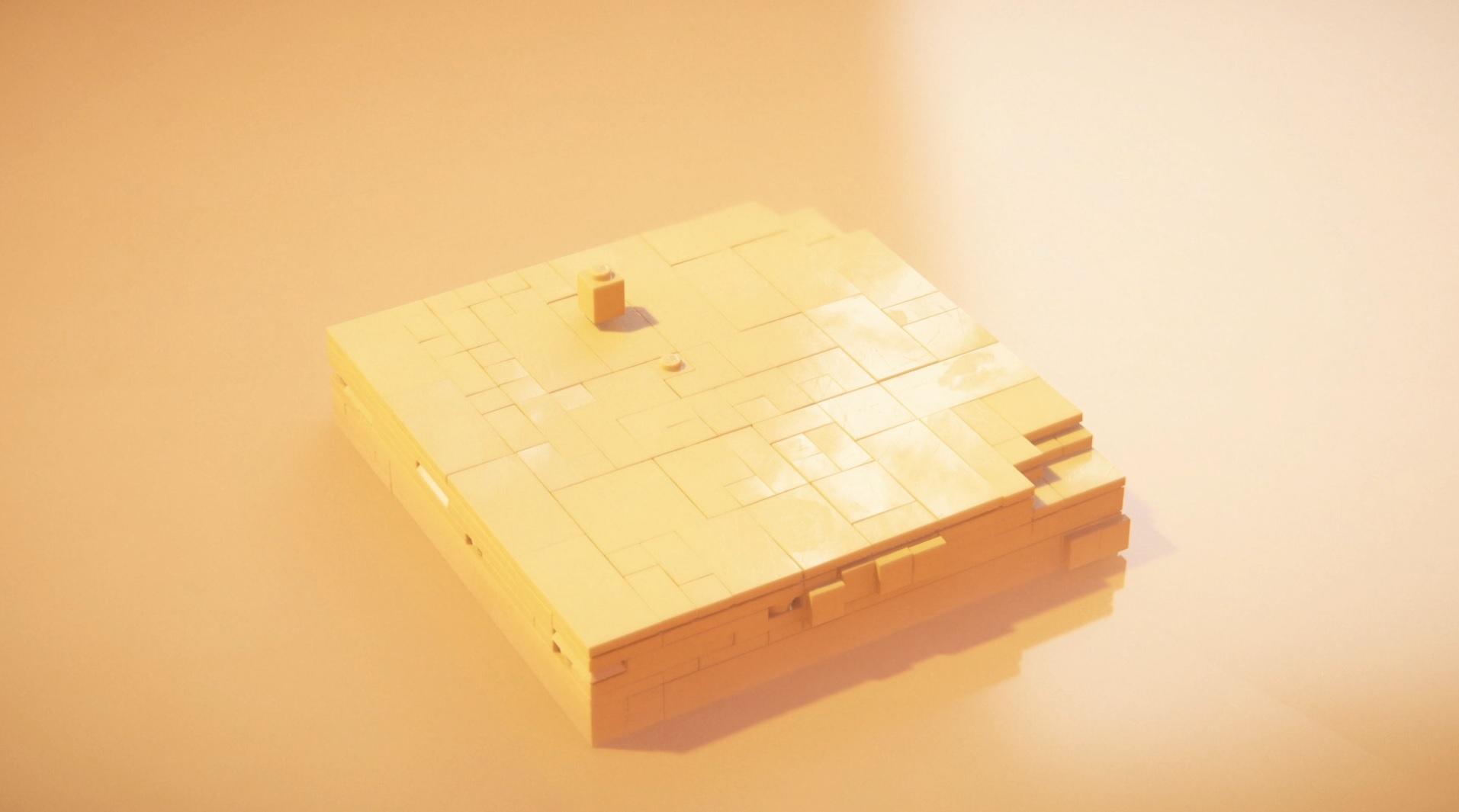 LEGO Builder's Journey simples mantém a pegada durante boa parte do jogo