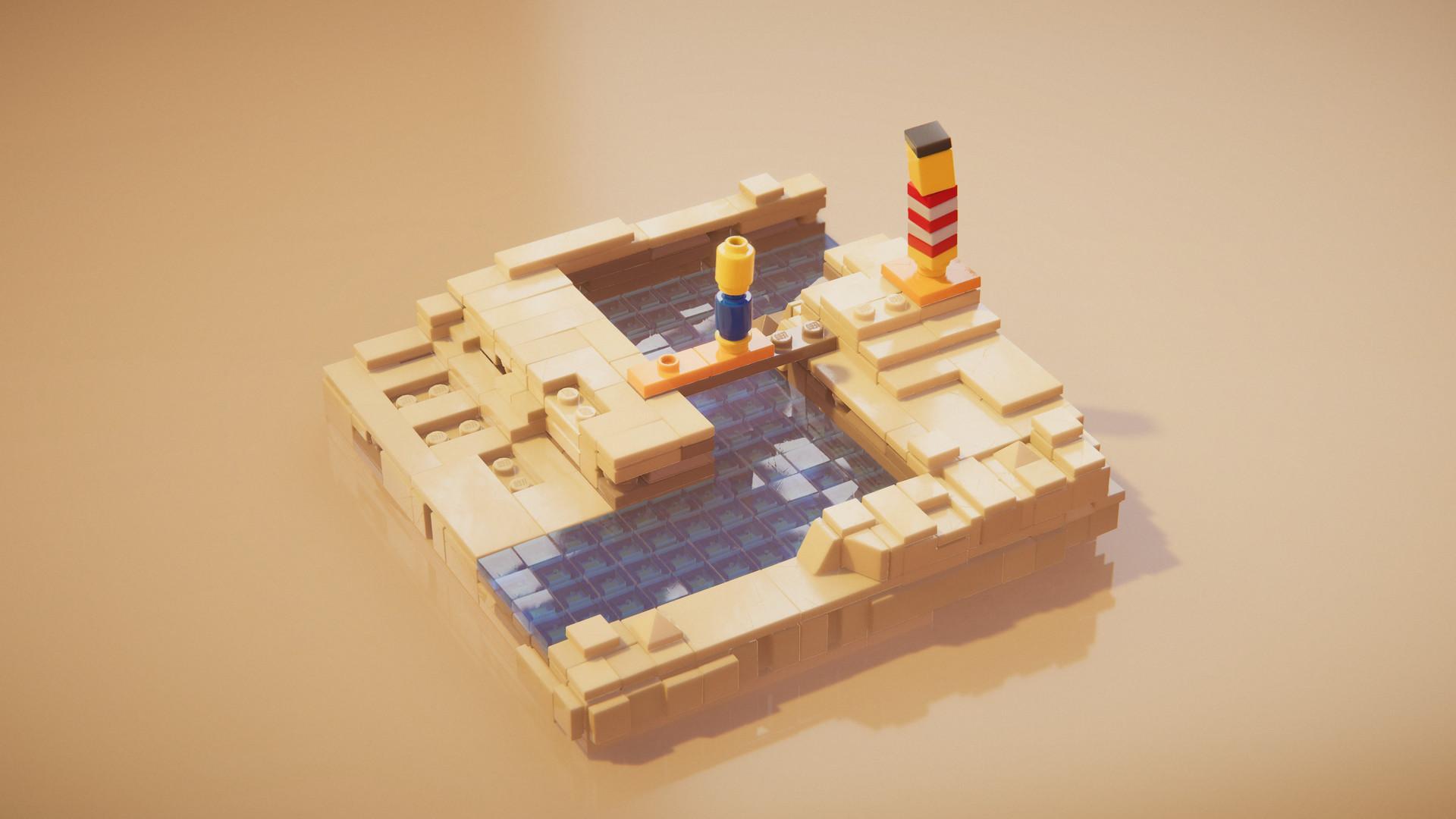 LEGO Builder's Journey e seus puzzles