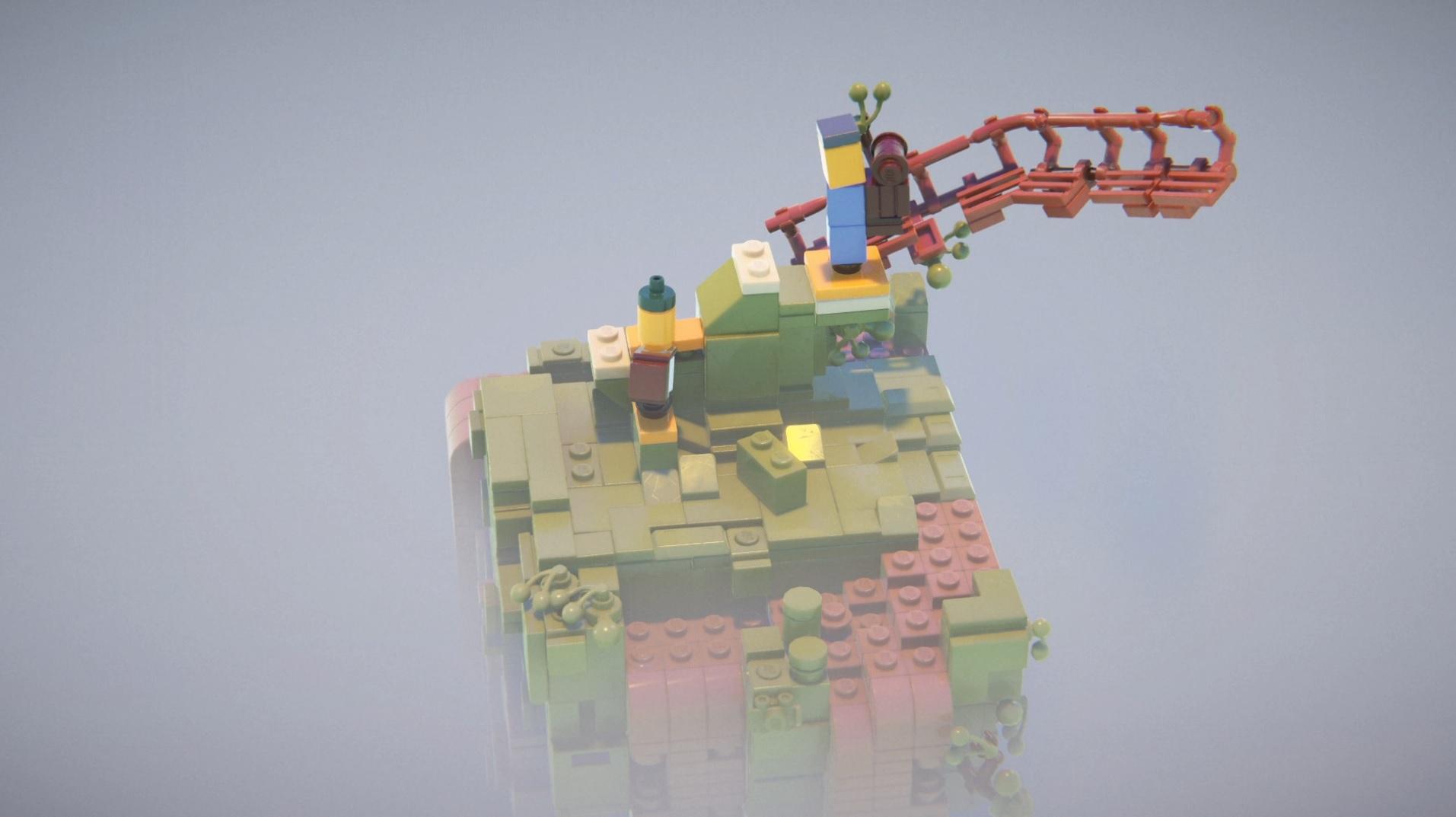 LEGO Builder's Journey traz elementos relaxantes