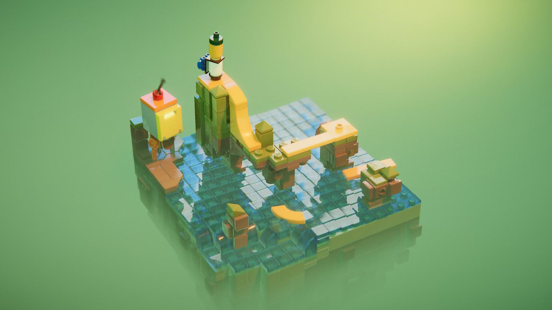 Tecnologia Ray Tracing encanta em LEGO Builder's Journey