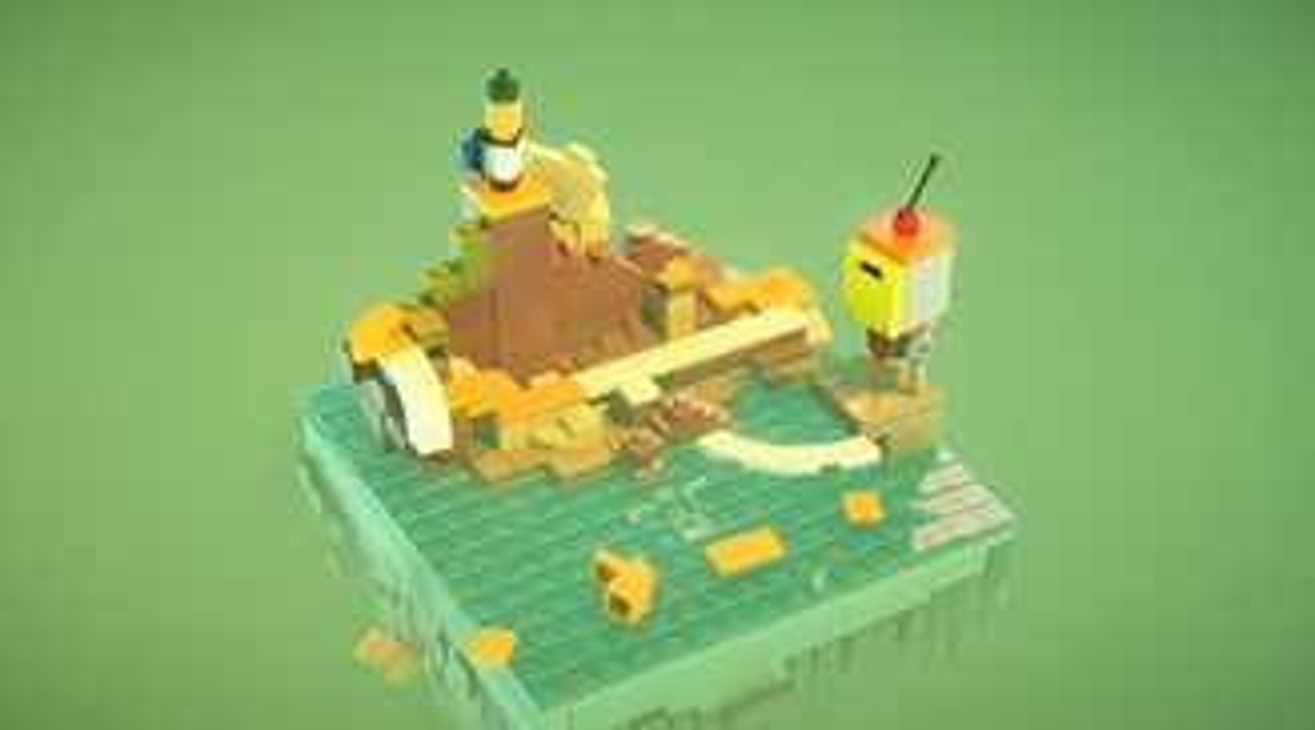 Às vezes a lógica não é levada a sério em LEGO Builder's Journey