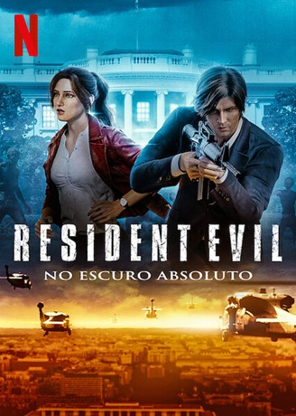 Resident Evil: No Escuro Absoluto 1ª Temporada Dual Áudio WEB-DL 1080p