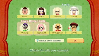 You will have the chance to choose a special face for each Mii you encounter along the way.