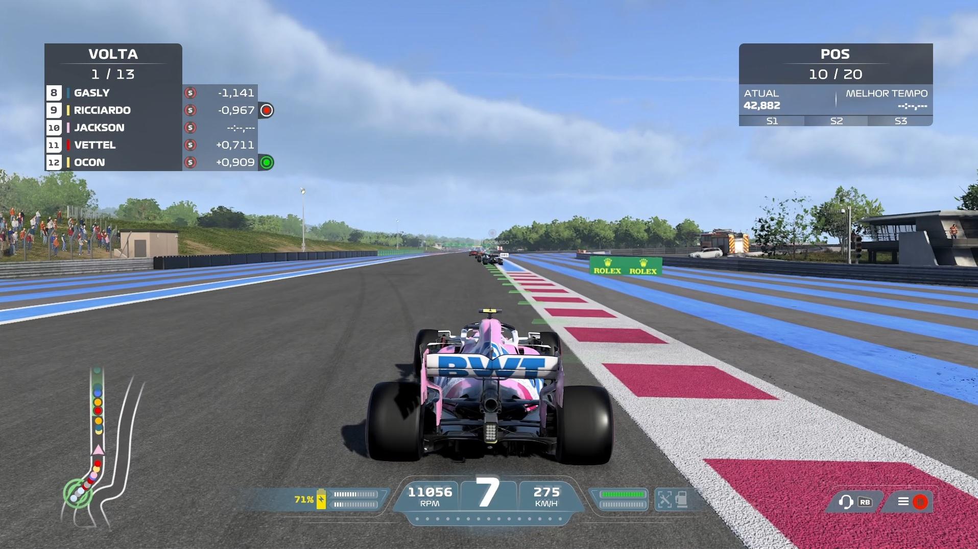 Jogabilidade de F1 2021 continua impecável