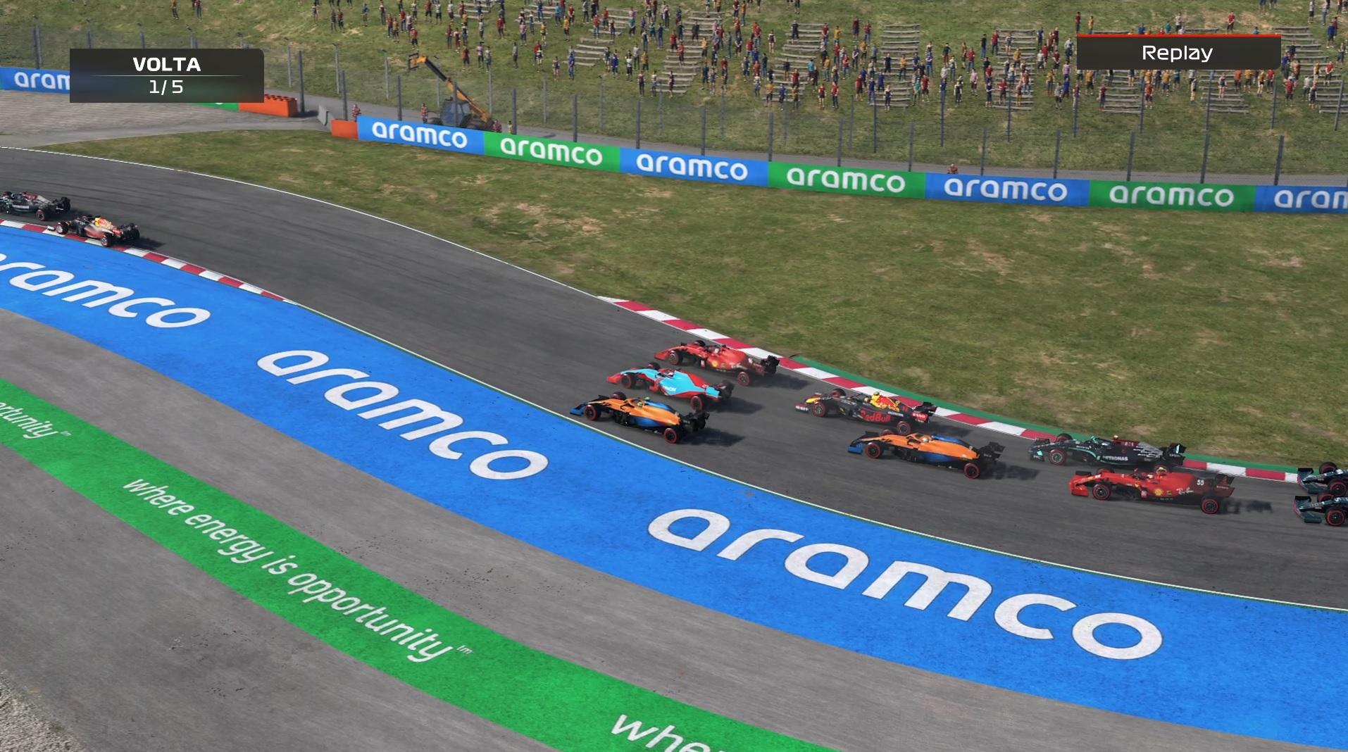 F1 2021 continua atraente, mas com muitos elementos reciclados