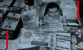 Data from Mexican reporter Cecilio Pineda Birto, murdered in 2017, appears in the leaked list.