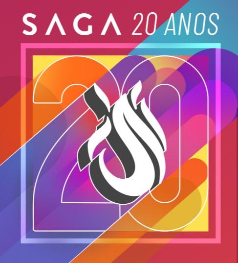 A SAGA realizará uma live em comemoração aos 20 anos da rede de ensino em desenvolvimento de games, animação e arte digital
