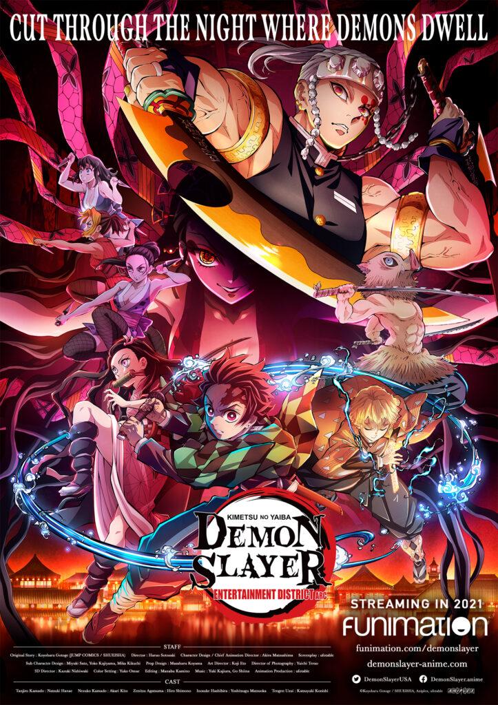 Funimation divulgou um novo pôster da animação.