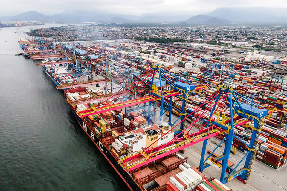 Porto de Santos terá 5G 'de verdade' em teste piloto