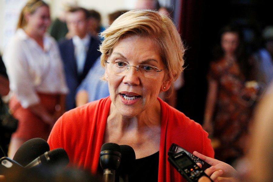 Elizabeth Warren, senadora dos Estados Unidos.