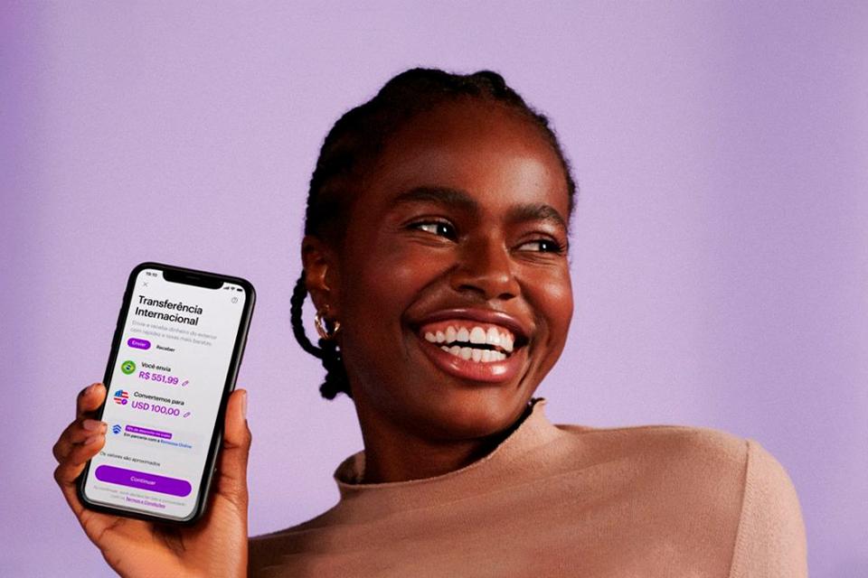 Nubank agora oferece transferências internacionais no app