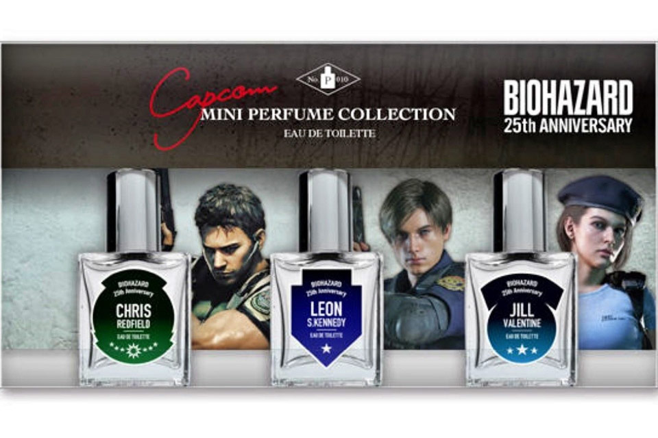 Capcom anuncia linha de perfumes inspirada em Resident Evil